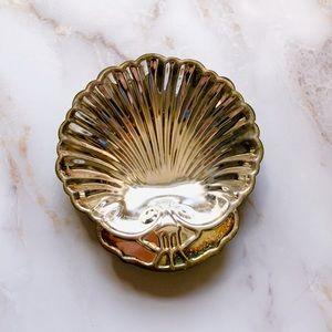 Vintage Seashell Catch Dish Tray